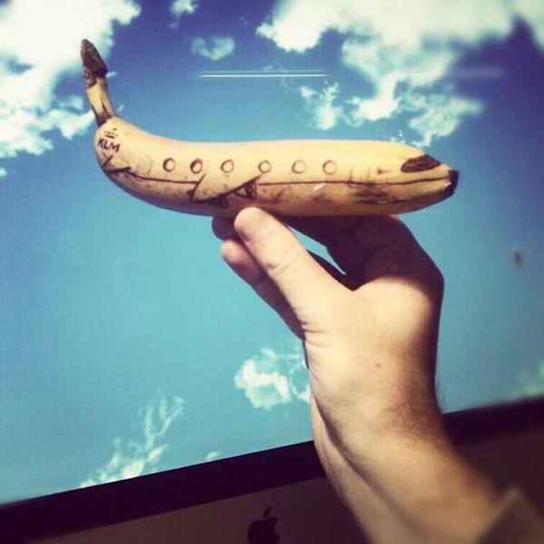Coole Doodles Auf Bananen Banane Kunst Bananen Fruhstucksbox