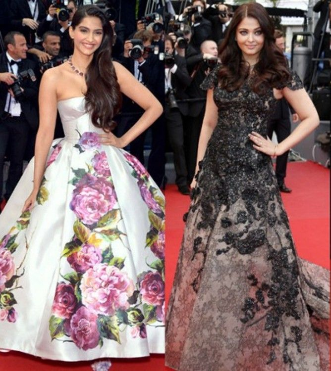 Image result for sonam kapoor and aishwarya rai