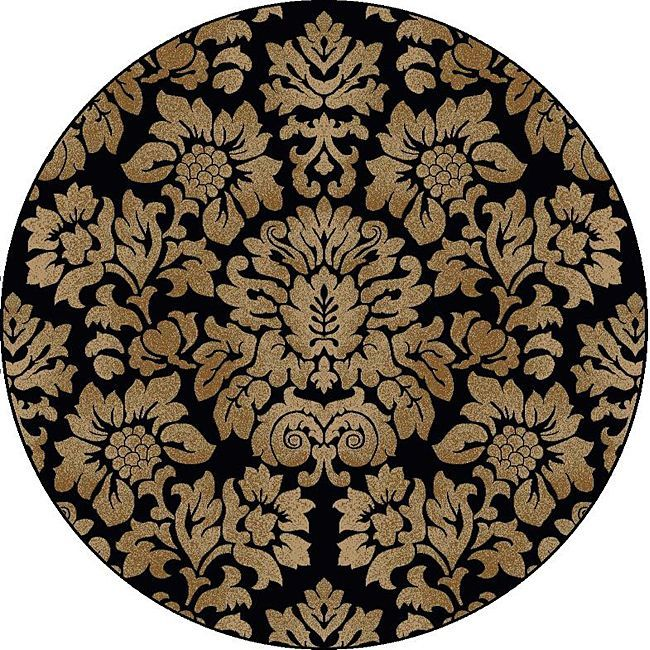 Floral Damask Area Rug: The Amalfi Damask Area Rug Is A Beautiful Area Rug Made In