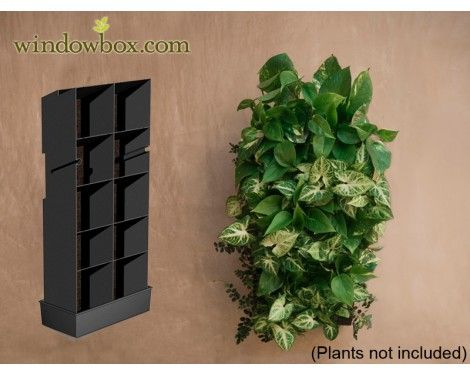 Superieur Water Collector For Indoor Living Wall Planter   DIY Projects | Vertical  Garden Kits   Living Wall Systems   Pots U0026 Planters   Windowbox.com.