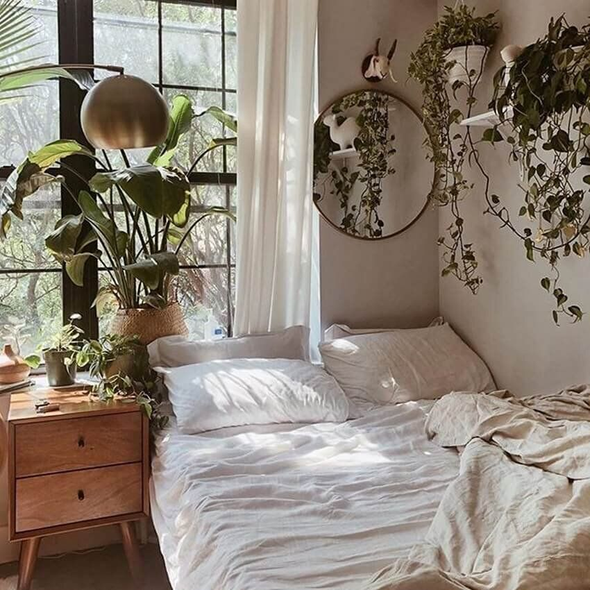 Bright Light Hip Bohemian Rooms I'd Copy Right Now — firefly+finch