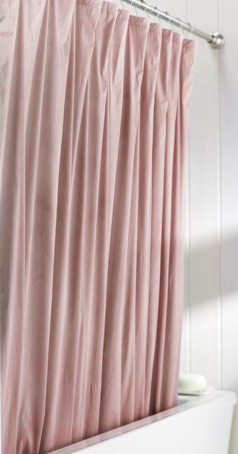 Shower Curtain Liner Rose Pink Heavy 40 Gauge PVC Vinyl Wipes Clean With A Damp Sponge Includes 12 Eyelets Metal Grommets 3 Magnet Hem Meets