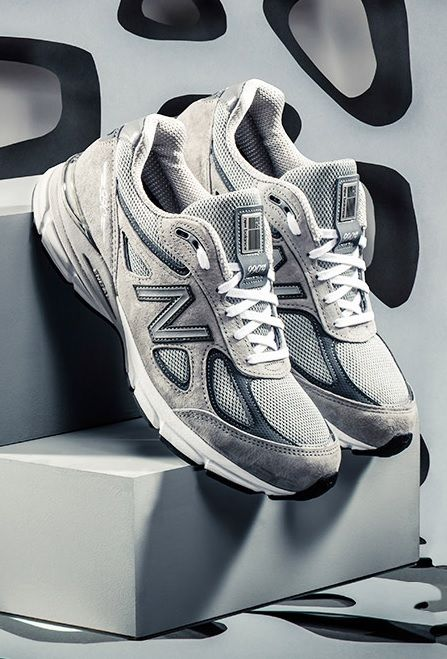 3b6d6192442a2 New Balance 990v4: Grey | Clothes I Like in 2019 | New balance ...