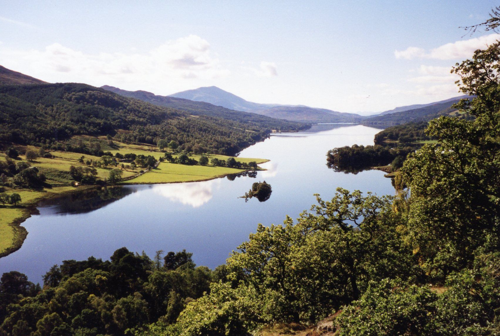 The Queen's View, near Pitlochry, Perthshire, Scotland.