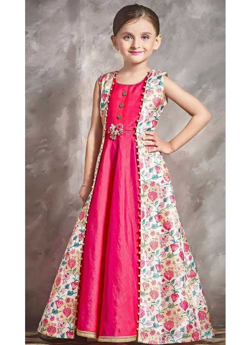 e62a20d85475 Buy indo western style 10 years girl gown | 366143496 Use 30% Off Discount  code : diwali2018 #fashion #onlineshopping #Diwali #Sales #heenastyle