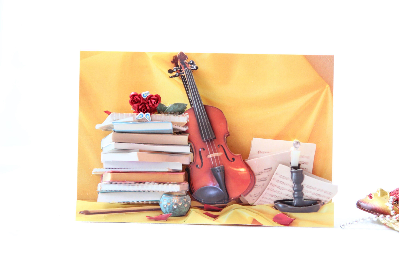 Paper Art, Violin, Music, Violin Music, Musicians, Violinist Gift ...