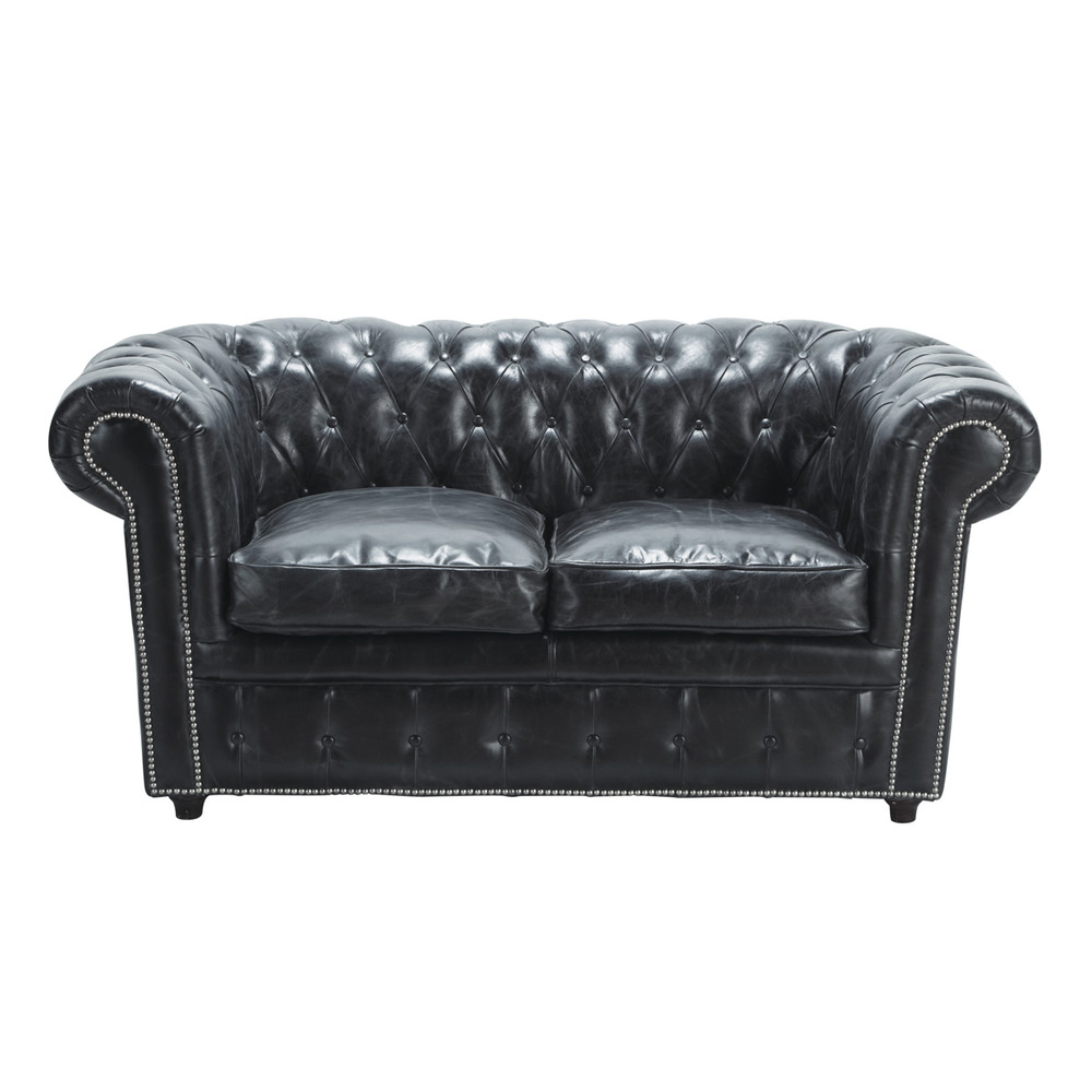 Canapé Anglais Chesterfield Maison Du Monde Canapé Lit 3 Places En Cuir Marron En 2019 Cathy Join Loveseat