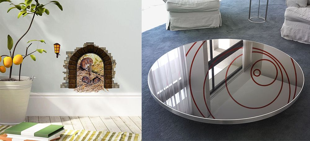 Designtrends 2018: atemberaubende Interieur-Illusionen im Design