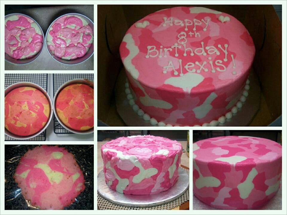Camouflage Cake