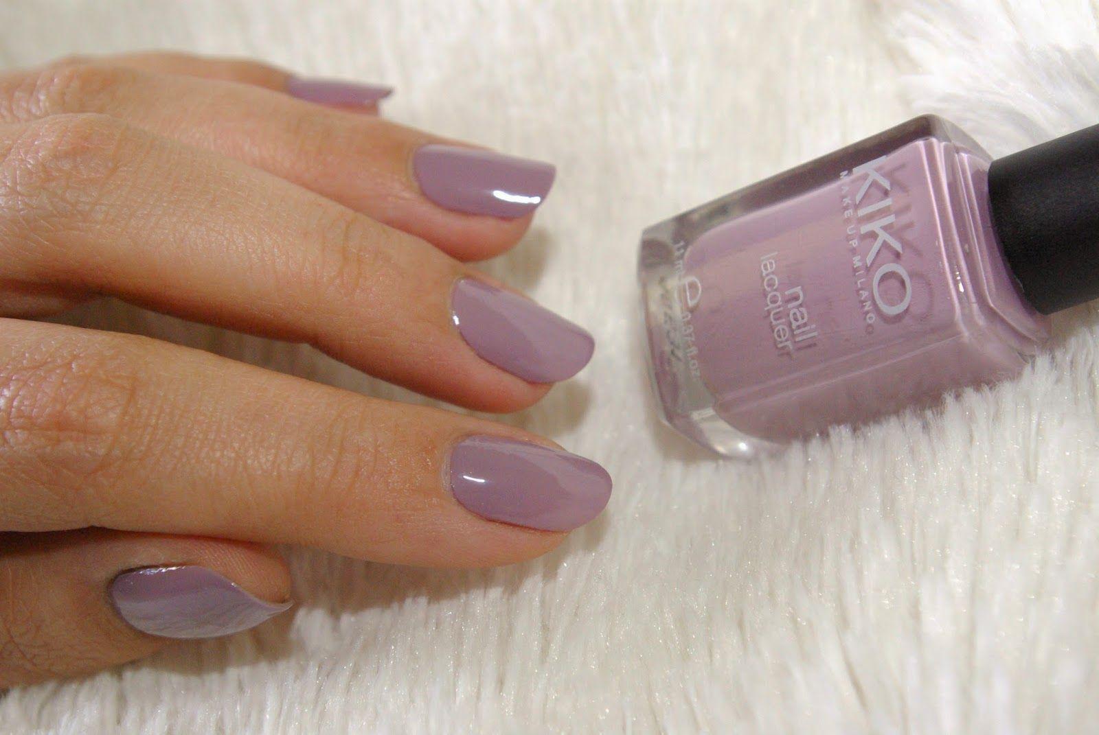 kiko 510 mauve grey   My Style   Pinterest   Esmalte, Belleza y Color