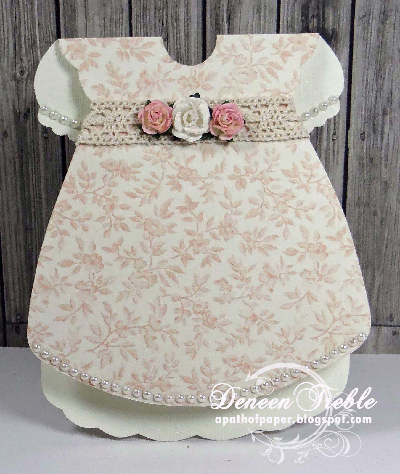 Baby dress template