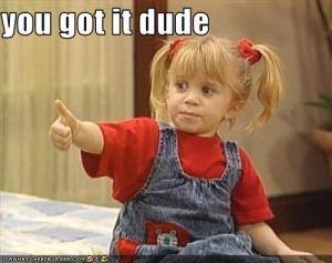 Michelle Tanner:)