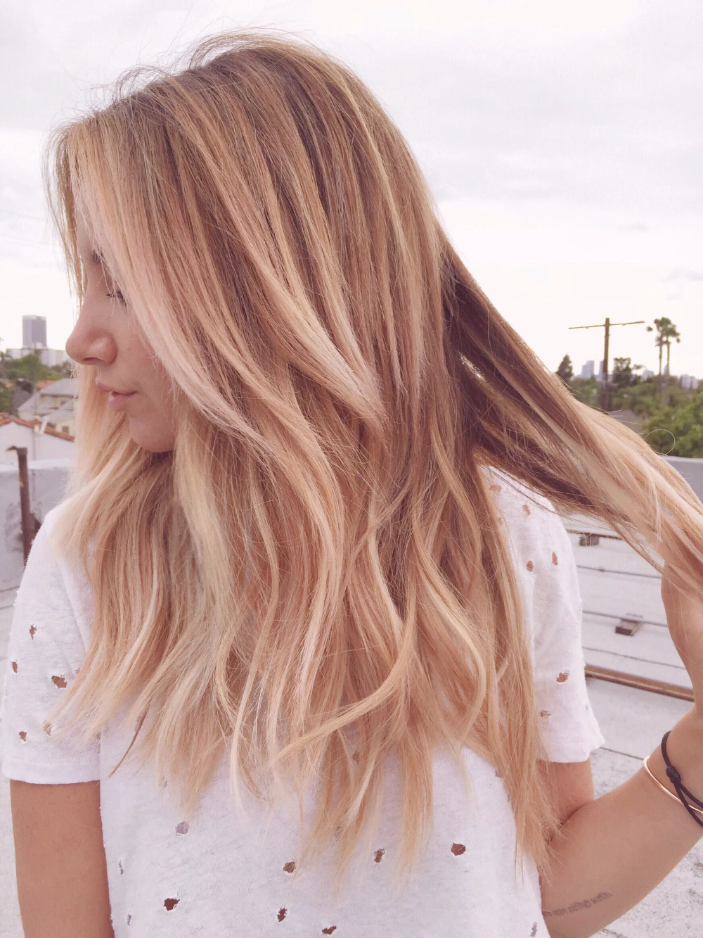 Ashley Tisdale's Cool New Hair Color Was Inspired by an Instagram Filter