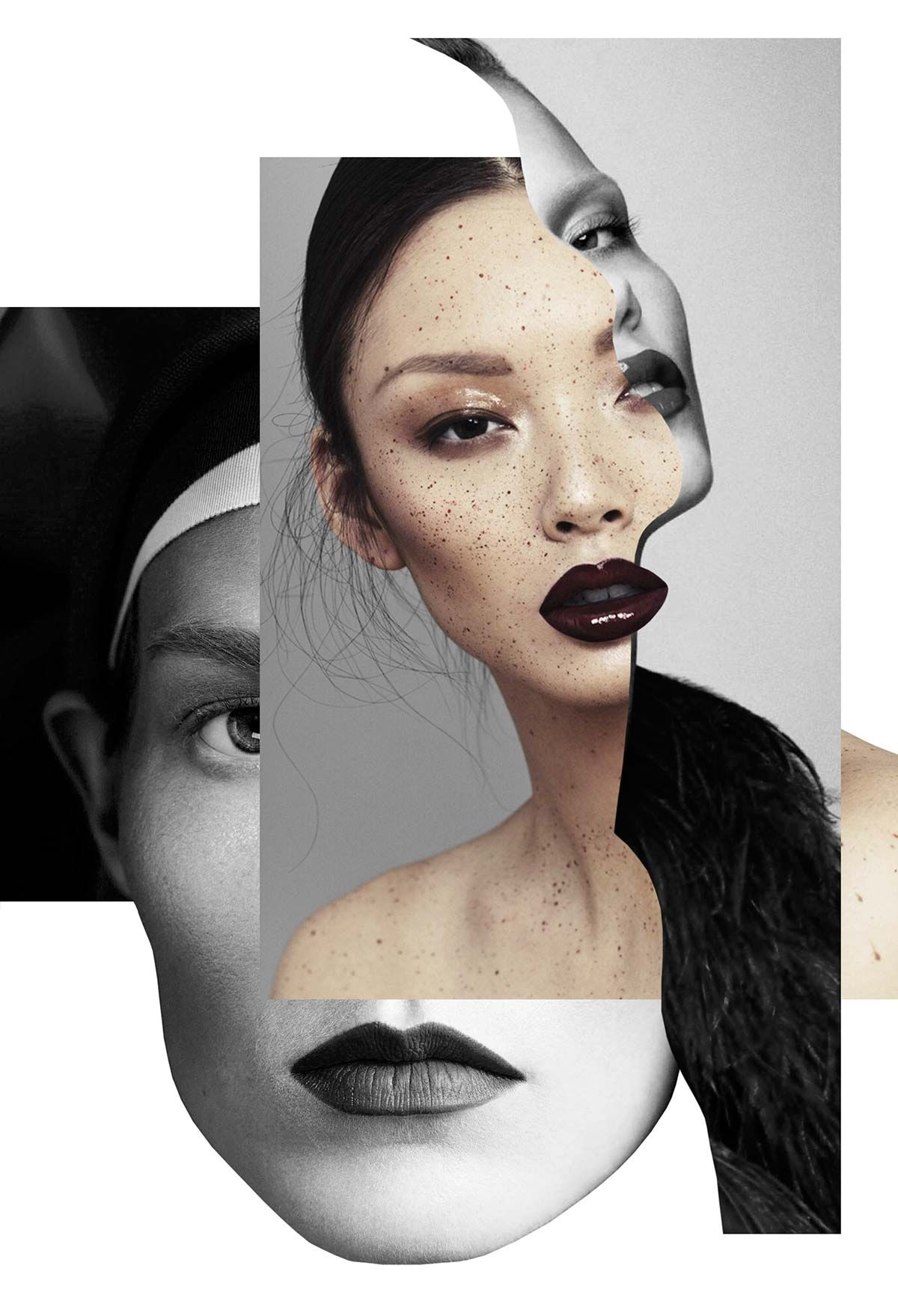Fashion Collages At Its Best By Thecuadro
