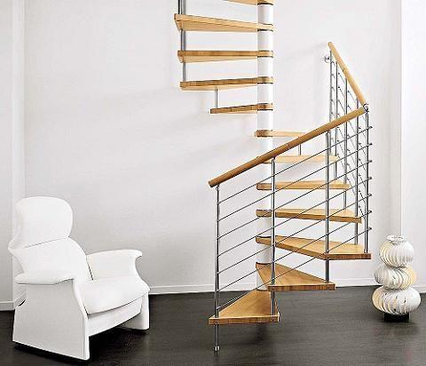 Escaleras para espacios peque os countryhouse deco for Escaleras modernas para espacios pequenos