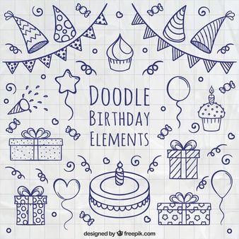 Lade Geburtstag Hintergrund Mit Realistischen Luftballons