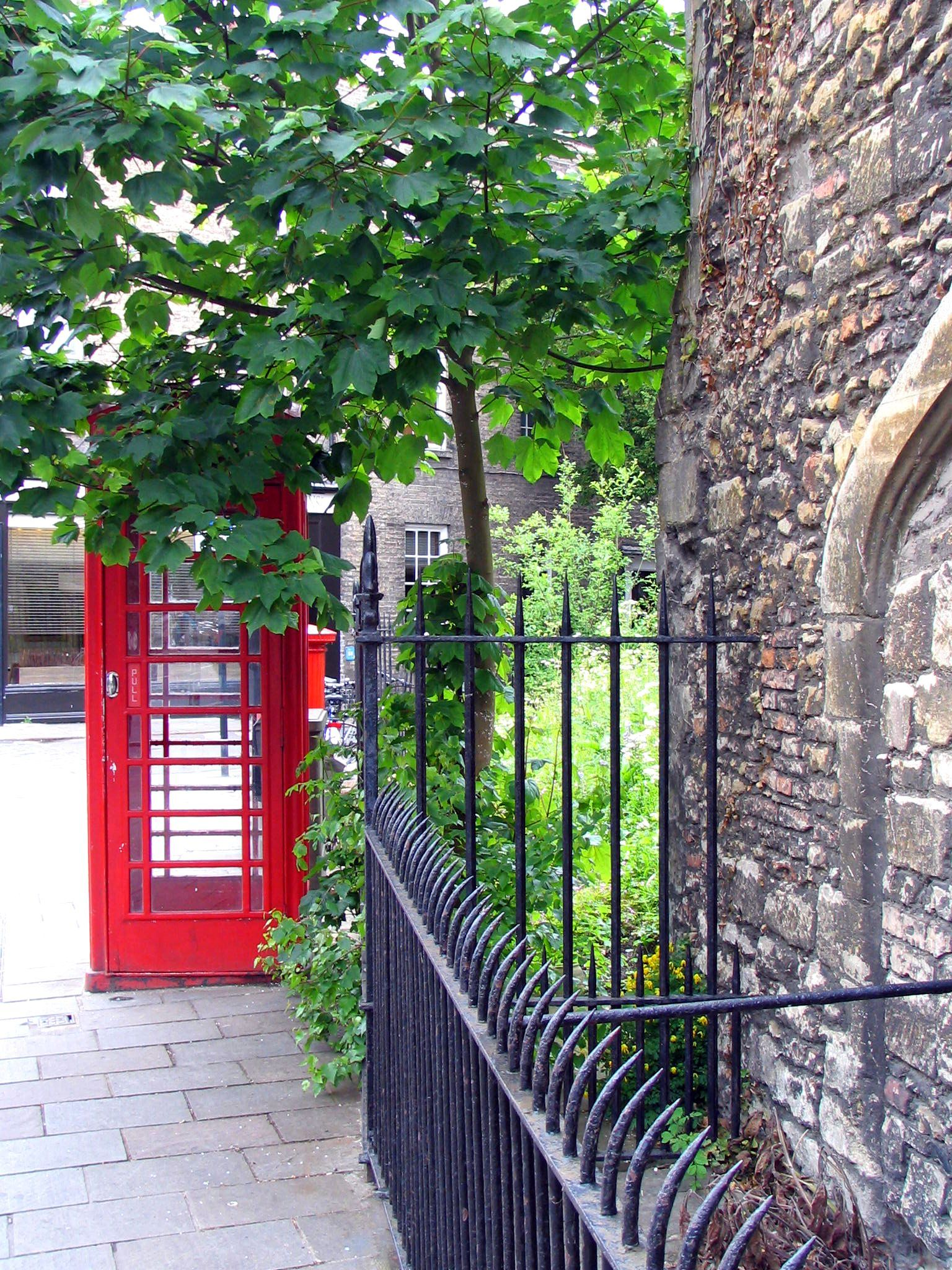love red phone booths!