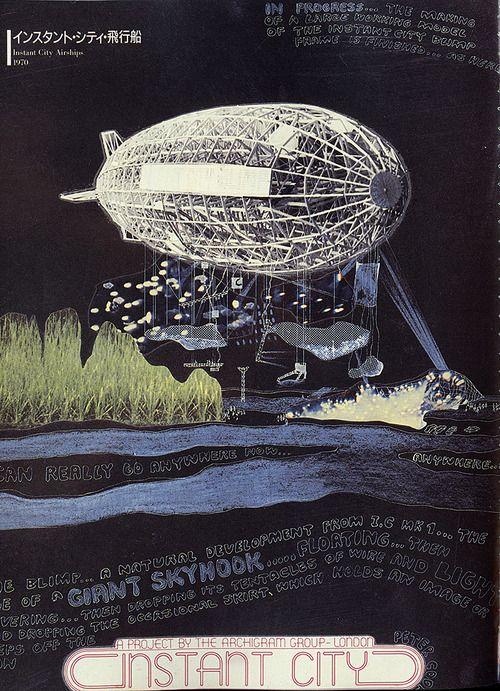 Instant City. Archigram [1970]