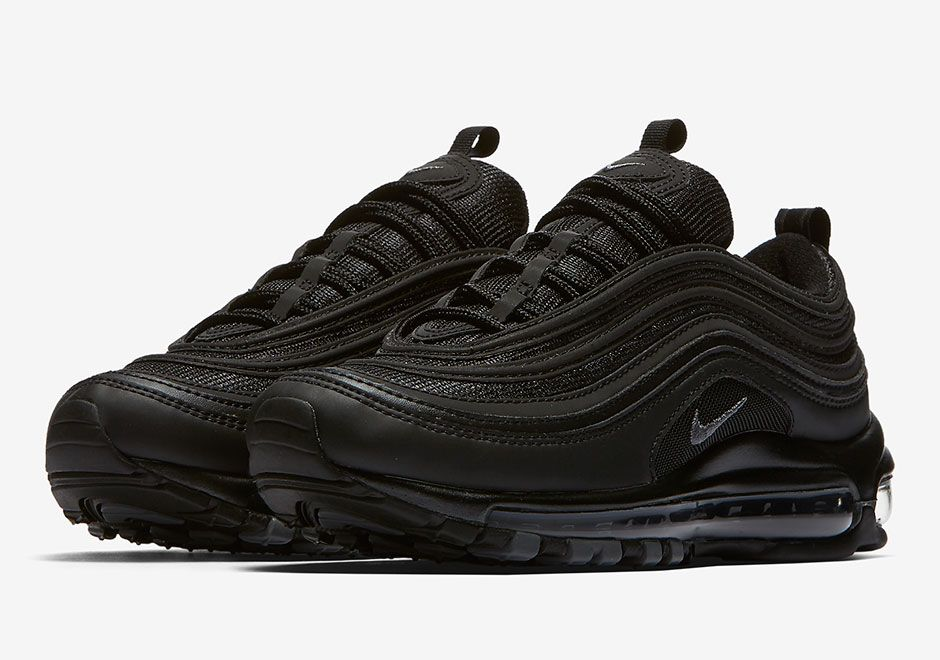 purchase cheap 52064 93a22 Nike Air Max 97 Triple Black Release Date 921733-001  SneakerNews.com