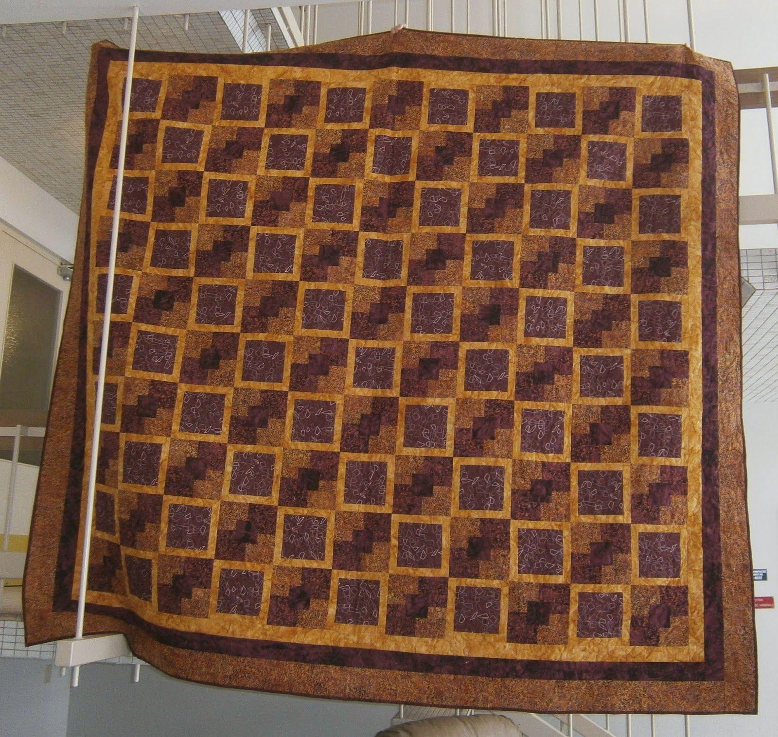 My Great-Nephew's quilt. Teddy.
