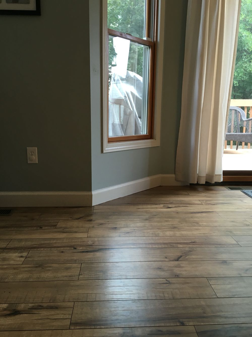 Shaw Laminate Floor, 12mm, Lumberjack Hickory Hickory Flooring, Wood  Laminate Flooring, Basement