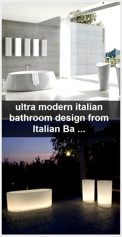Photo of hochmodernes italienisches Badezimmerdesign von Italian Bathroom Fixtures, #Bath…