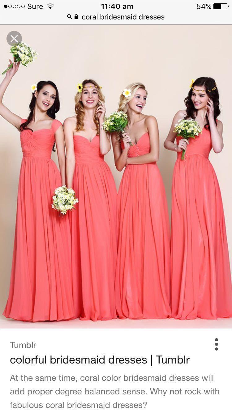 583c80ba1a Discount Coral Bridesmaid Dresses - raveitsafe