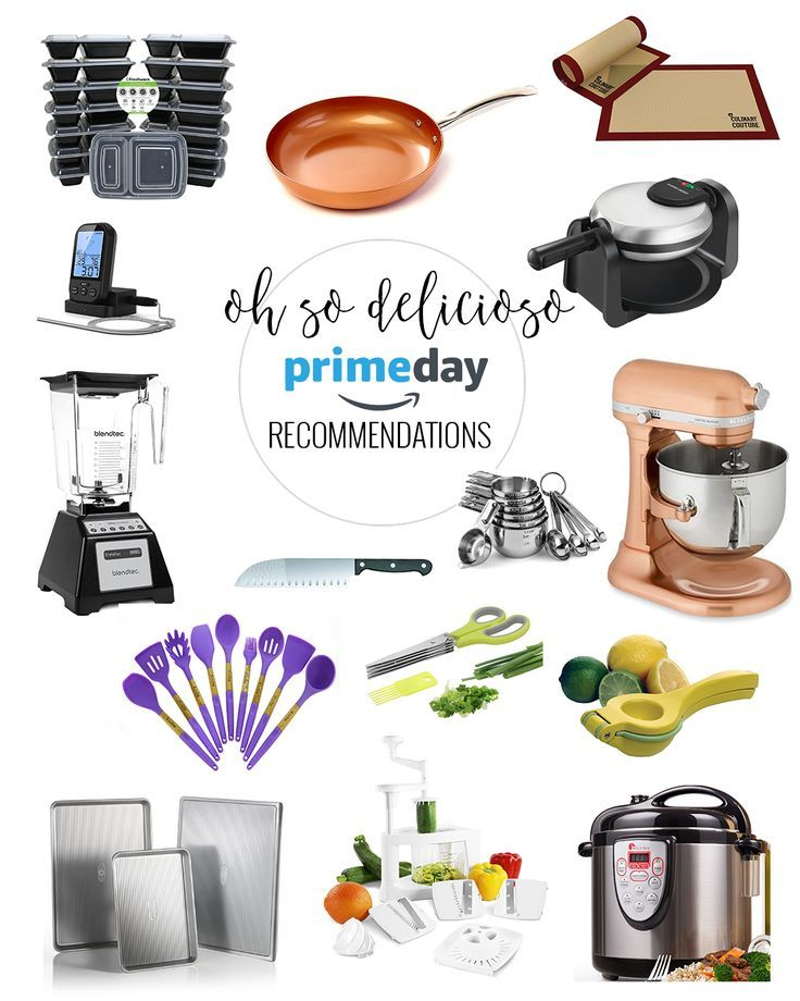 Amazon Prime Day Recommendations Kitchen Essentials Must Have