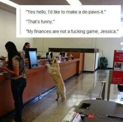 My finances are not a fucking game Jessica.