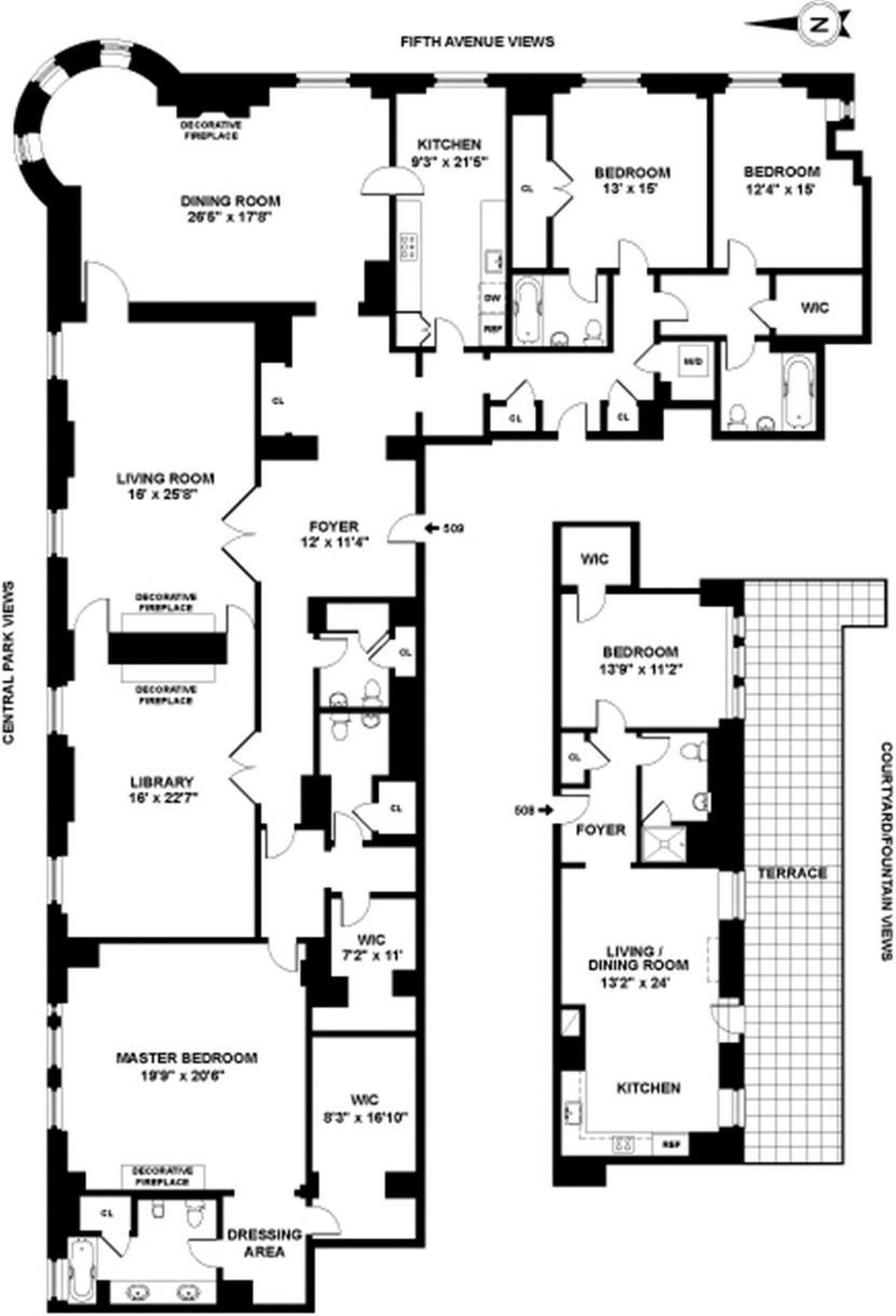 The Plaza Hotel S Historic Astor Suite Returns With A 10m Discount Curbed Ny Hotel Floor Plan Apartment Floor Plans Hotel Floor