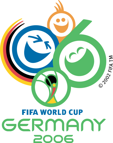 2006 Fifa World Cup Germany Official Logo World Cup Logo Fifa World Cups Fifa World Cup