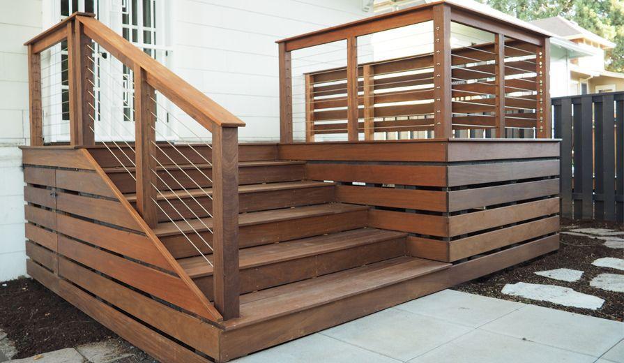 5 Imaginative Deck Railing Ideas Backyard Renovations Diy Deck Patio Deck Designs