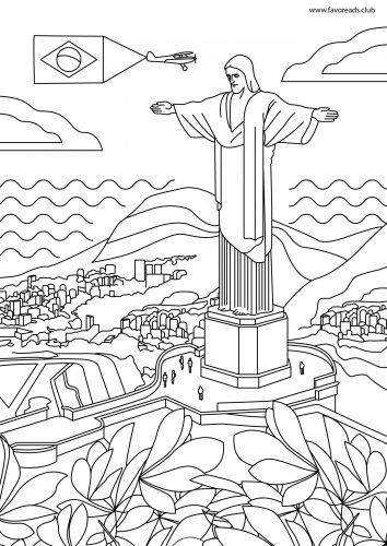 The Best Free Adult Coloring Book Pages Christ The Redeemer