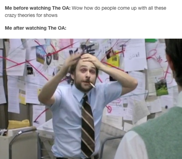 "22 Hilarious Memes About Netflix's ""The OA"" The oa, It's"