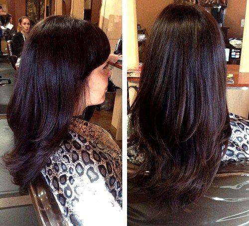 Dark Brown Hair With Purple Undertones - 70.6KB