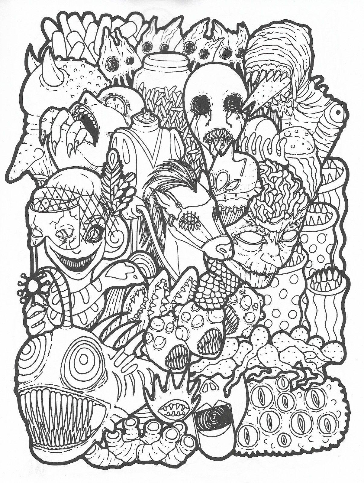 Badass Coloring Pages : badass, coloring, pages, Badass, Coloring, Pages