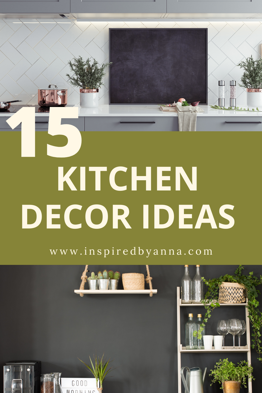 15 gorgeous and simple decor ideas for your kitchen.  kitchen ideas| kitchen decor| kitchen decorating ideas| kitchen decor apartment  #kitchendecor #kitchendecoratingideas