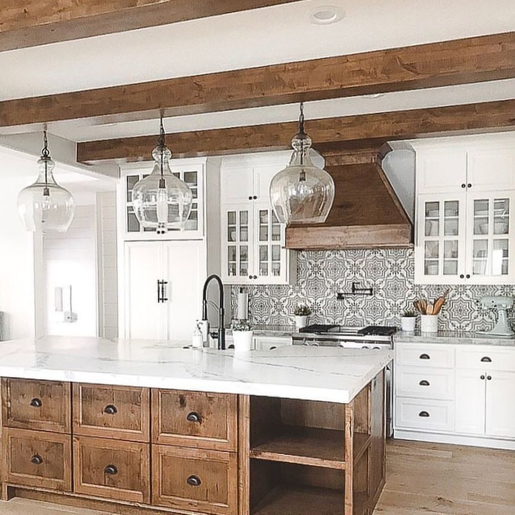 35 the best country farmhouse kitchen design ideas to on best farmhouse kitchen decor ideas and remodel create your dreams id=54087