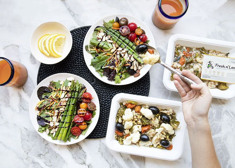 Fresh N Lean Ready To Eat Meals Vegan Meal Delivery Diet Recipes Vegan Meal Plans
