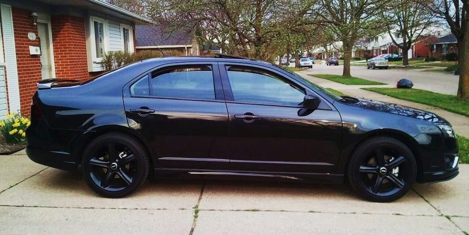 3 Point 5 S Sport Blacked Out With Images Ford Fusion Ford