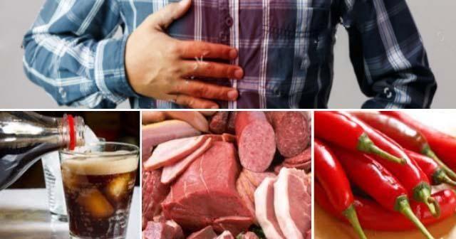 Alimentos que provocan acidez que debes (y puedes) evitar en tu dieta