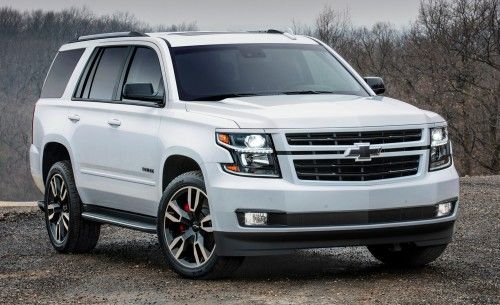 2018 Chevrolet Tahoe And Suburban Get Street Smart With New Rst
