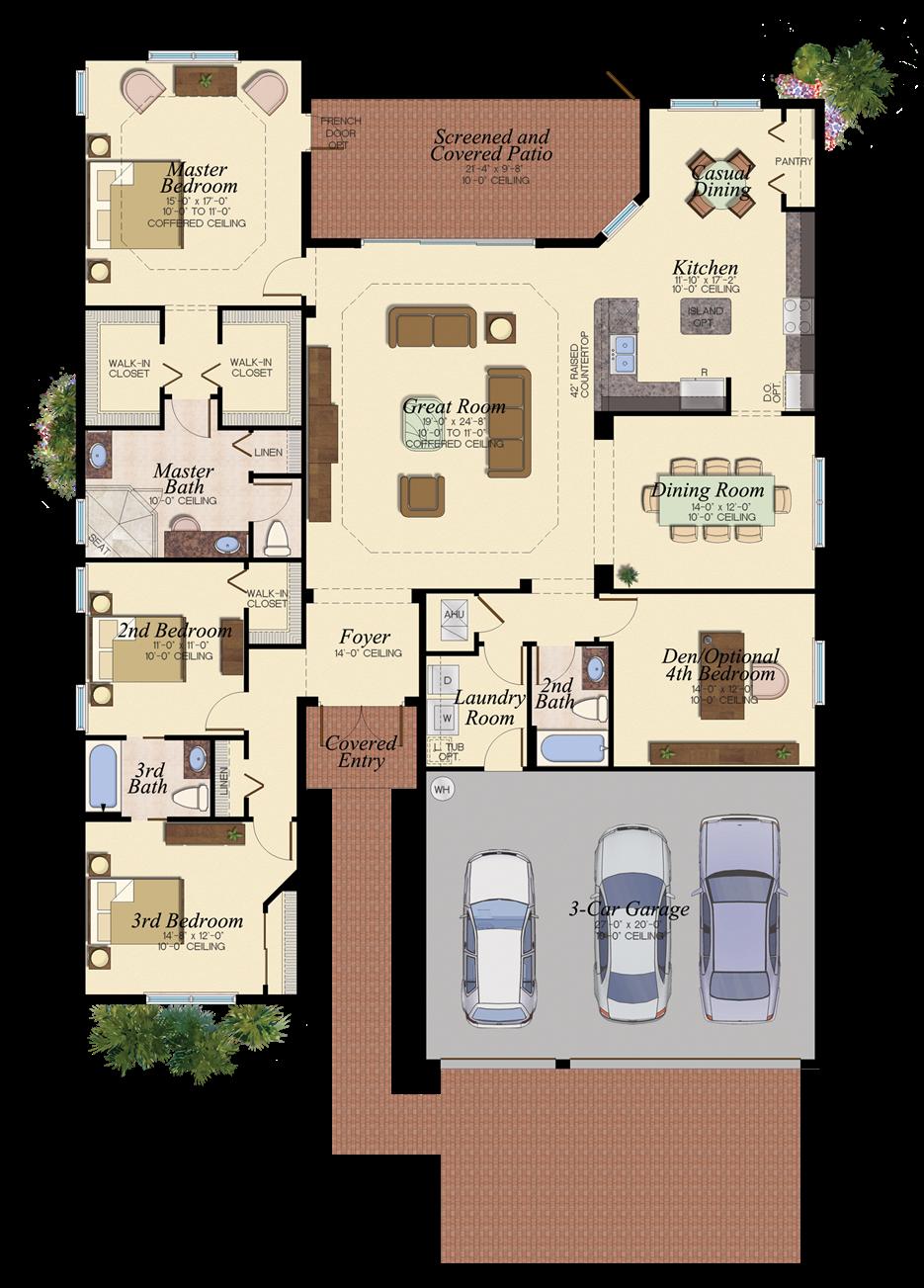 San Marino Patio Furniture: ROYAL COLLECTION SAN MARINO/69 3 Bedrooms 3 Bathrooms Den