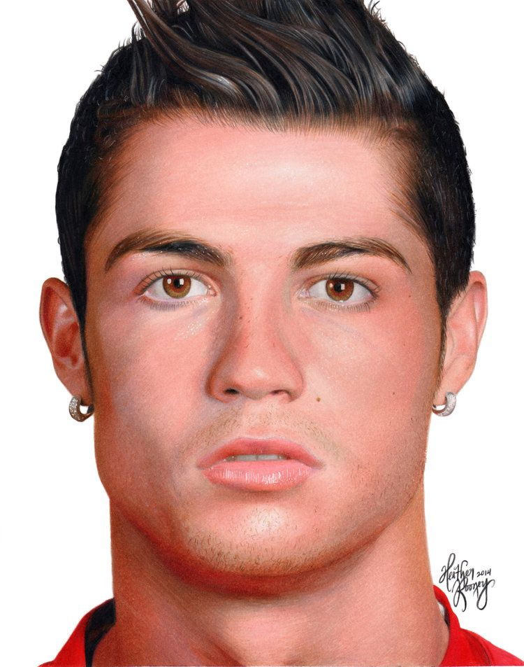 Cristiano Ronaldo Colored Pencils Cristiano Ronaldo Ronaldo