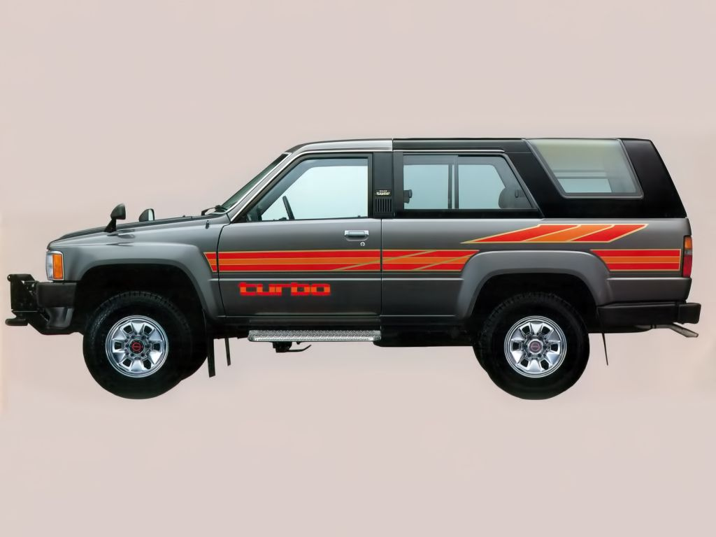 toyota hilux surf 39 1984 86 off road pinterest toyota. Black Bedroom Furniture Sets. Home Design Ideas