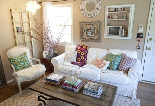 Sunny Small Apartment In Santa Monica Chic Living Room Home