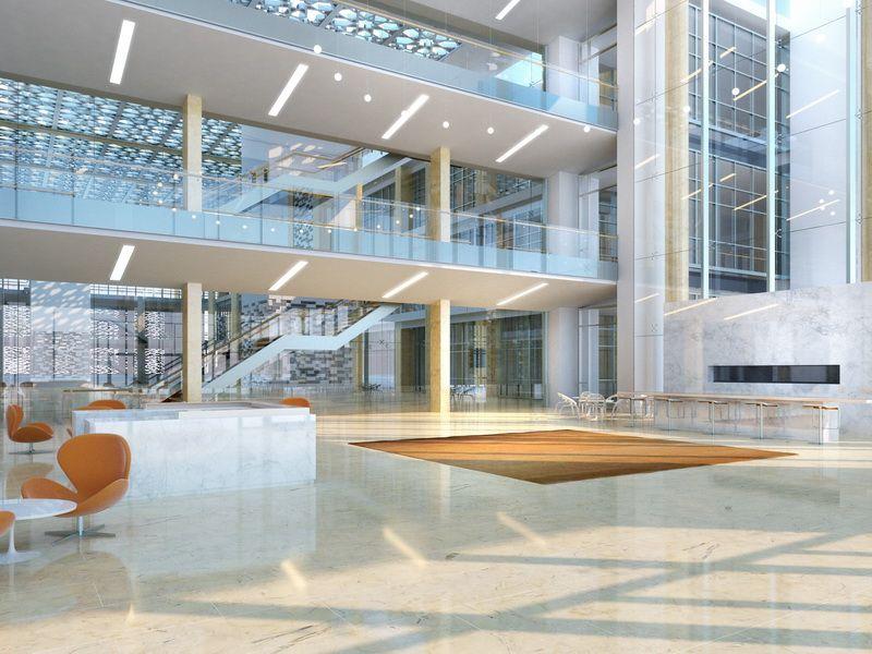 Riyadh university transparent house interior rendering photoreal hyperreal