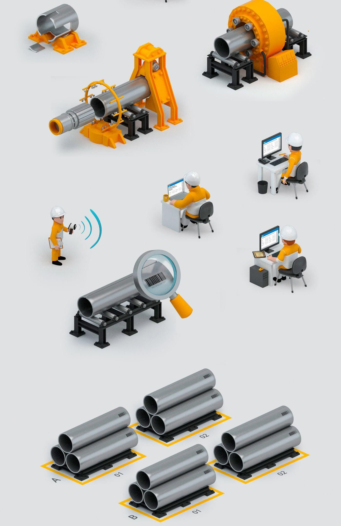 Tube Manufacturing On Behance 3dmanufacturing