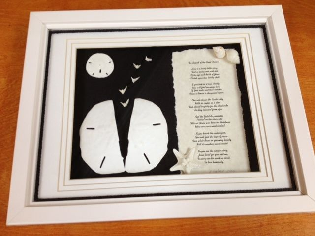 The Legend of the Sand Dollar Shadow Box #Unbranded