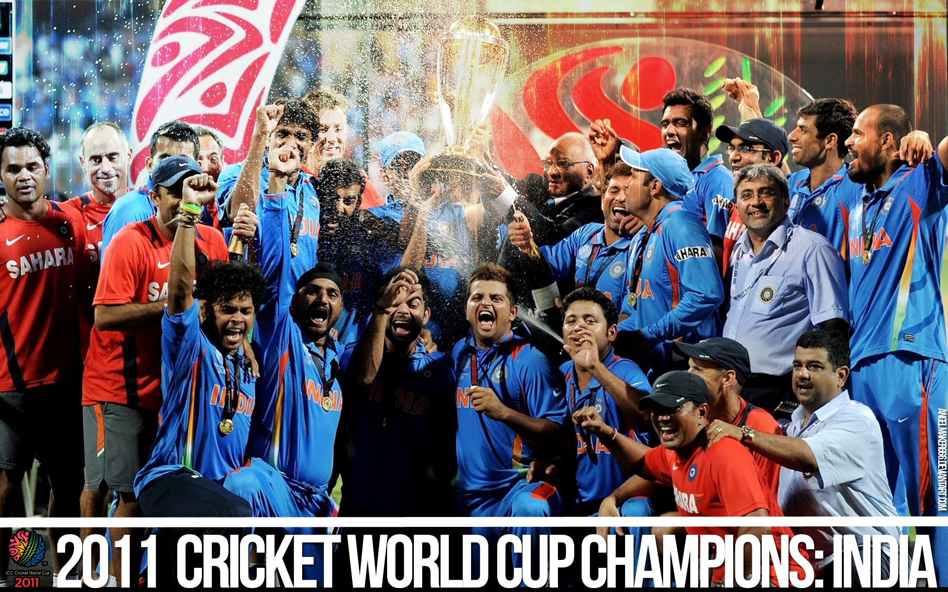 Indian Cricket Team 2011 Cricket World Cup Cricket World Cup India Win